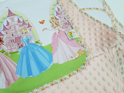 Picture of Premium cotton minky blanket 100x80 - Fairy tale