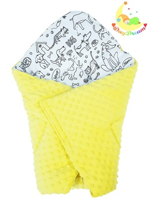 Picture of Cotton  carrier  blankets 2 in 1 - Puppy