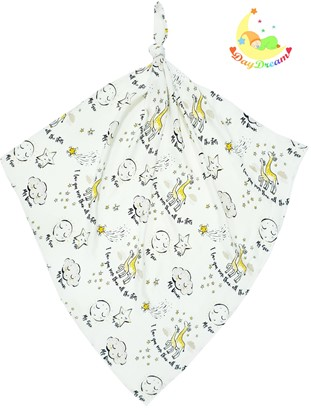 Picture of Children swaddle blanket 100% bamboo - I love you more than all the stars