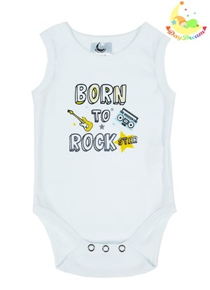 Slika od Baby body bez rukava - Born to rock