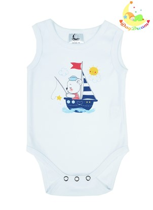 Picture of Baby body - no sleeves - Sailor