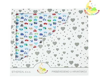 Picture of Premium cotton blanket - Cars