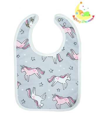 Picture of Baby bib with waterproof lining  - Unicorn