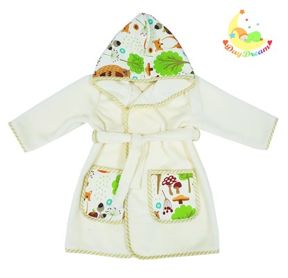 Picture of Baby bathrobe - 110/116 - Forest animals