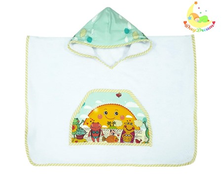 Picture for category Bamboo baby poncho - from 3 to 6 years