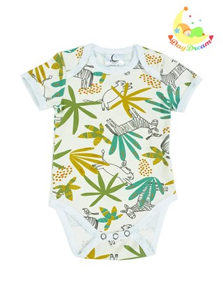 Picture of Baby body short sleeves - Jungle