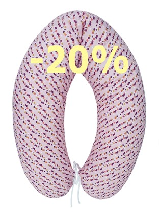 Picture of Nursing pillow - Lilac dots
