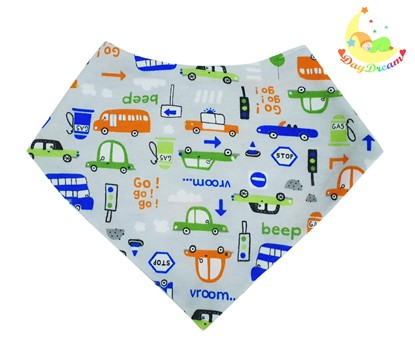 Picture of Baby scarf bib - Cars