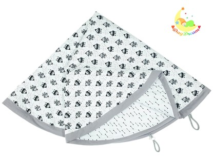 Picture of Baby play mats and toy bag 2 in 1 - Foxes