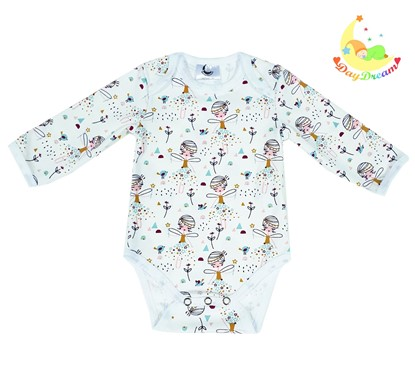 Picture of Baby body long sleeve - Ballerinas