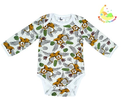 Picture of Baby body long sleeve - Little tigger