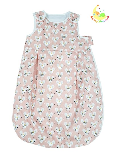 Picture of Winter sleeping bag - Pink lady mouse- 0-6 months