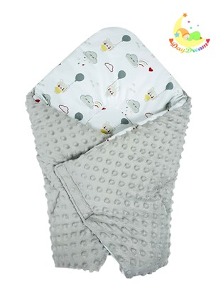 Picture of Cotton  carrier  blankets 2 in 1 - Teddy and cloud