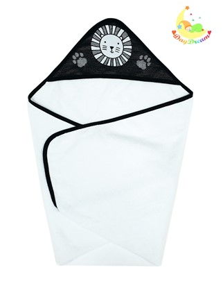 Picture of Bamboo hooded towel - Little lion  90x90cm