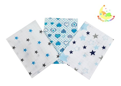 Picture of Cotton tetra wash clothes  - Set 3/1 for boys
