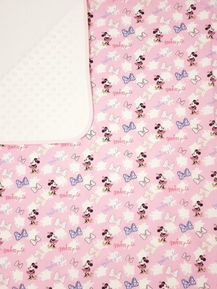 Picture of Premium cotton minky blanket 100x80 - Minnie Mouse - pink