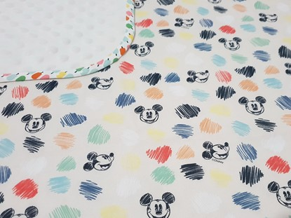 Picture of Premium cotton minky blanket 100x80 - Mickey Mouse