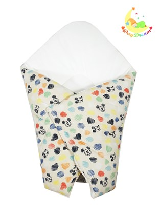 Picture of Cotton  carrier  blankets 2 in 1 Disney - Mickey Mouse - colorful