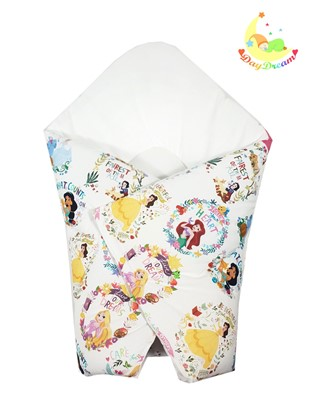 Picture of Cotton  carrier  blankets 2 in 1 Disney - Princess