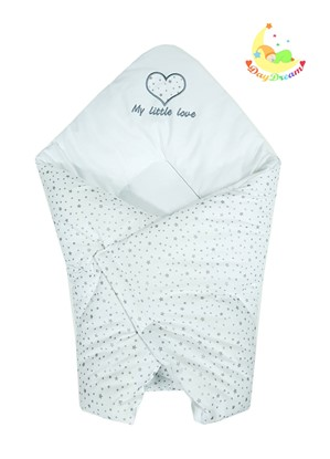 Picture of Cotton  carrier  blankets 2 in 1 - My little love