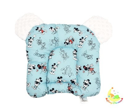 Picture of Sleeping pillow with ears - Mickey Mouse - blue