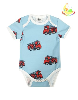 Picture of Baby body short sleeves - Firefighters