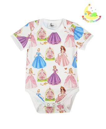 Picture of Baby body short sleeves - Princesses