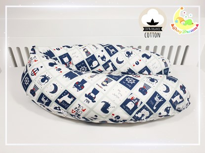 Picture of Nursing pillow - Premium - Cute sailor
