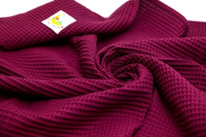 Picture of Waffle blanket 120x100 - Magenta