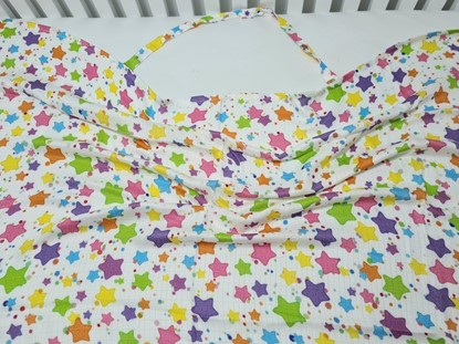 Picture of Bamboo nursing scarf - Stars