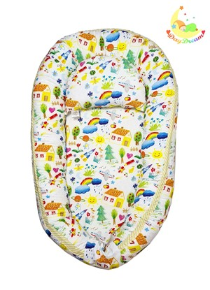 Picture of Baby nest - Kids drawing - cotton