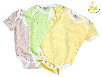 Picture of Baby body set 3/1 - short sleeves