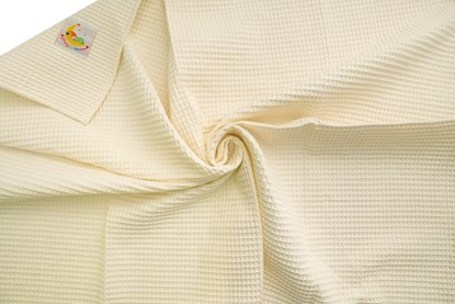 Picture of Waffle blanket 100x80 - Ivory