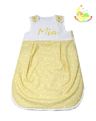 Picture of Peronalized winter sleeping bag - Yellow stars