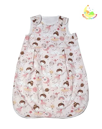 Picture of Summer sleeping bag - Ballerina and fairy - 60cm
