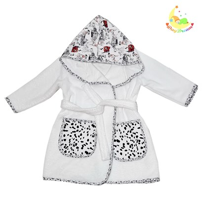 Picture of Baby bathrobe - 110/116 - Dalmatians