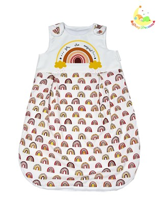 Picture of Summer sleeping bag - Red rainbows - 100cm