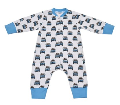 Picture of Romper with long sleeves - Vehicles