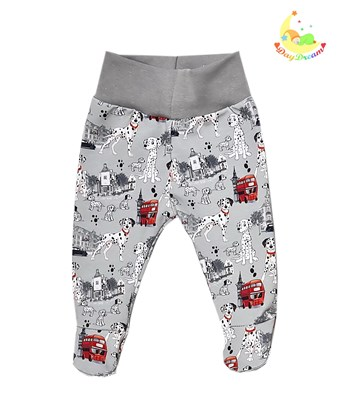 Picture of Pants with feet - Dalmatians