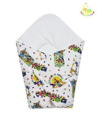 Picture of Cotton carrier blankets 2 in 1 Disney - Summer vibes