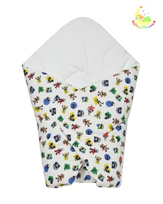 Picture of Cotton carrier blankets 2 in 1 Disney - Mickey Mouse and Donald Duck