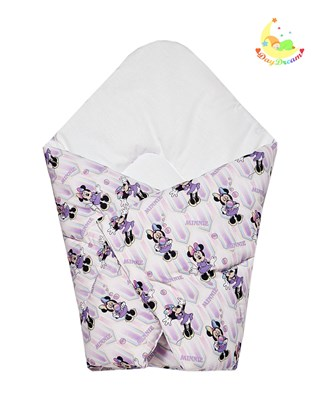 Picture of Cotton carrier blankets 2 in 1 Disney - Minnie Mouse