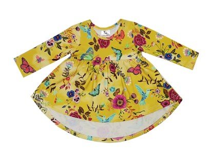 Picture of Tunic - Butterflies and flowers