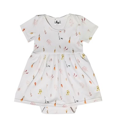 Picture of Baby body dress - Leaves