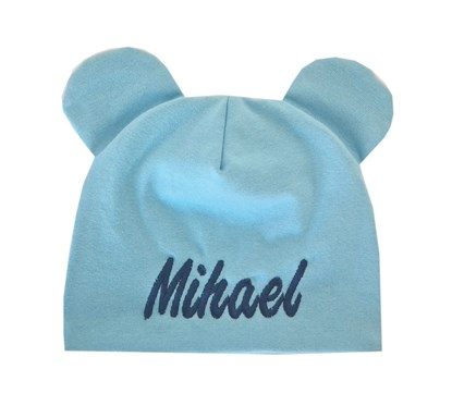 Picture of Two layer beanie - Blue