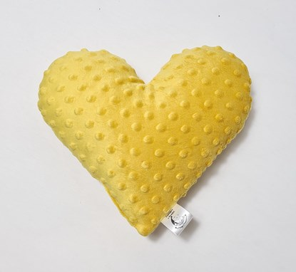 Picture of Personalized heart - Mustard yellow