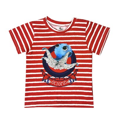 Picture of Short sleeves shirt - Octopus