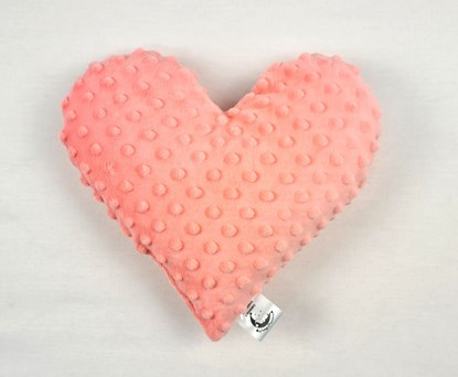 Picture of Personalized heart - Peach