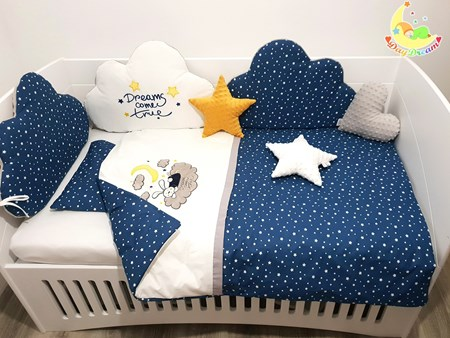 Picture for category Children's bedding, 6 pieces set