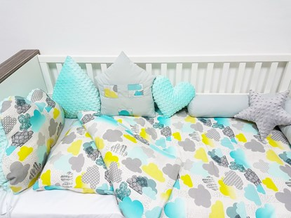 Picture of Bamboo bedding - 2 pieces - Clouds